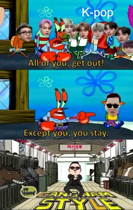 Opan gangnam style - meme