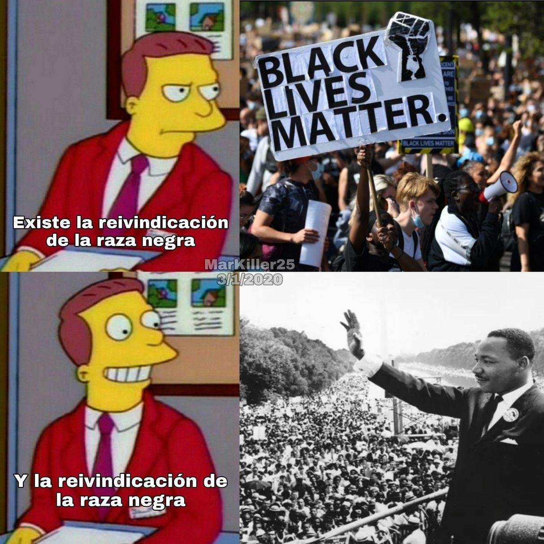 Un capo el Luther King - meme