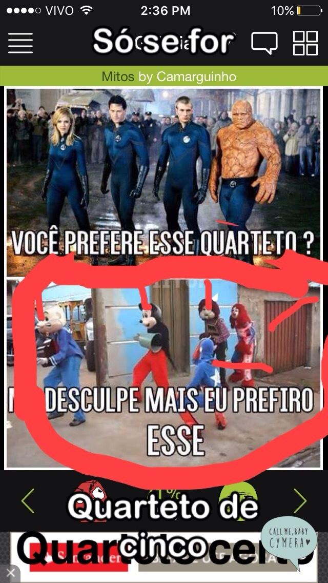 quarteto sertão - meme