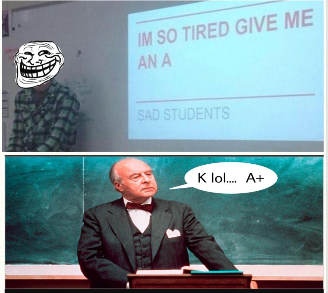 How i feel even tho school didn't even start yet - meme