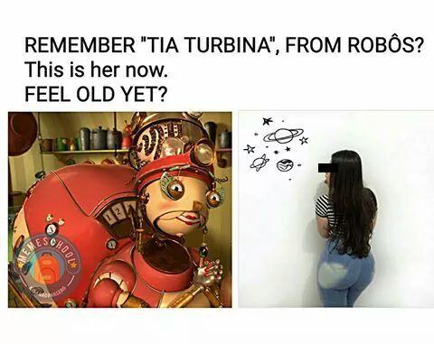 Tia turbina - meme