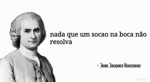 Jean Jacques Rousseau - meme