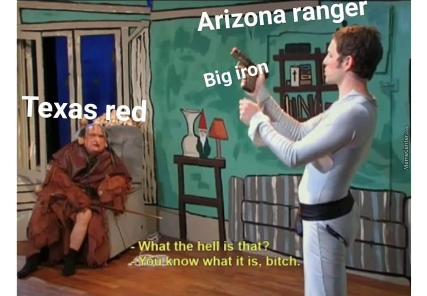 Big iiirrron - meme
