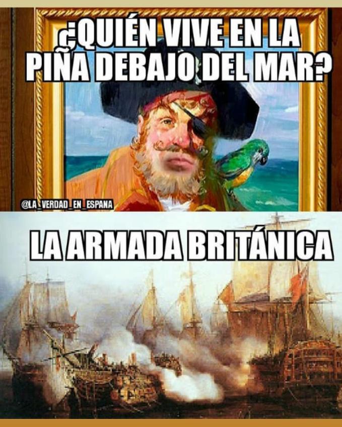 La armada britanica - meme
