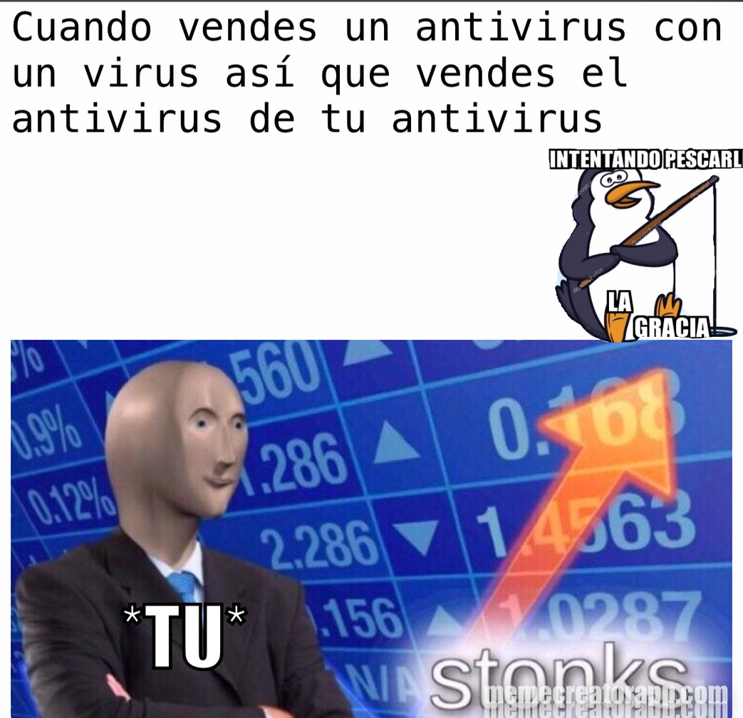 Como se escribe antiviruss o antiviruses - meme