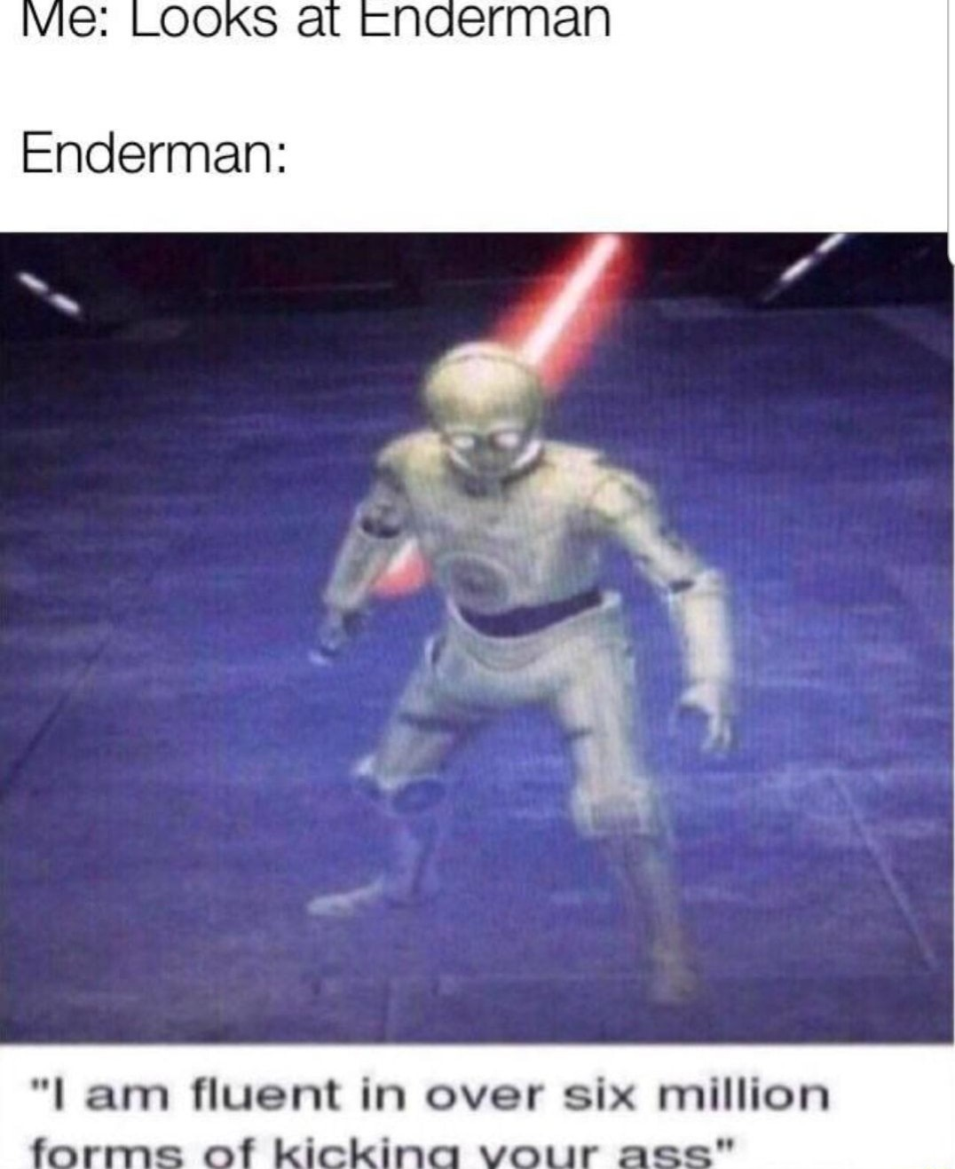 cp3o dont do it *order 66 initiated* - meme