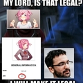 Jesus, stop calling the Lolice every time u see a Natsuki lewd