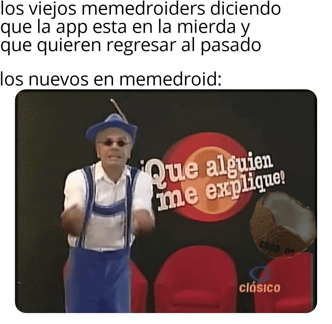Expliquenme >:v - meme