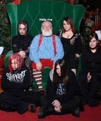 dark christmas it will be - meme