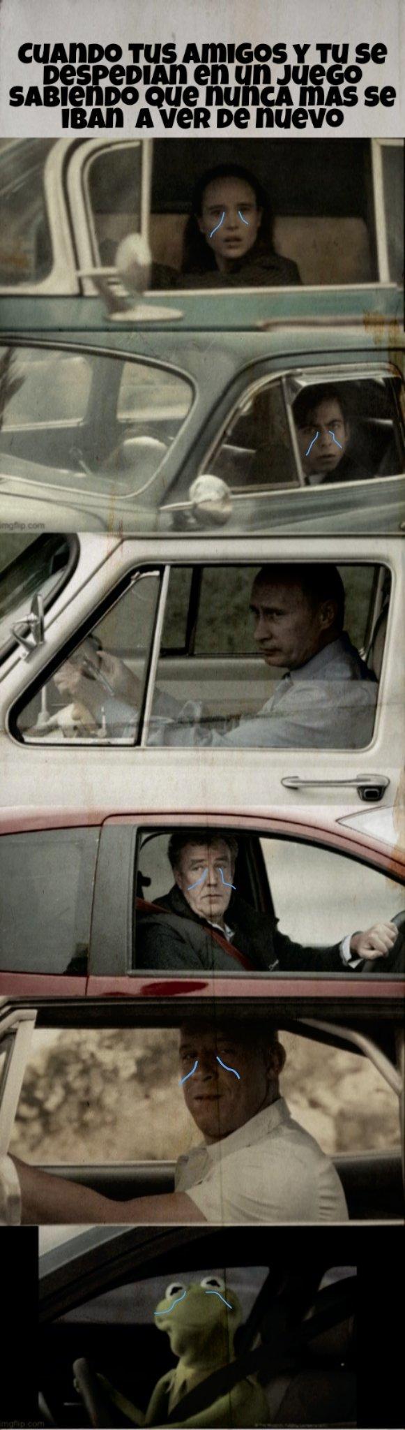 Creditos a:kaleno87 por la plantilla. Putin no llora - meme