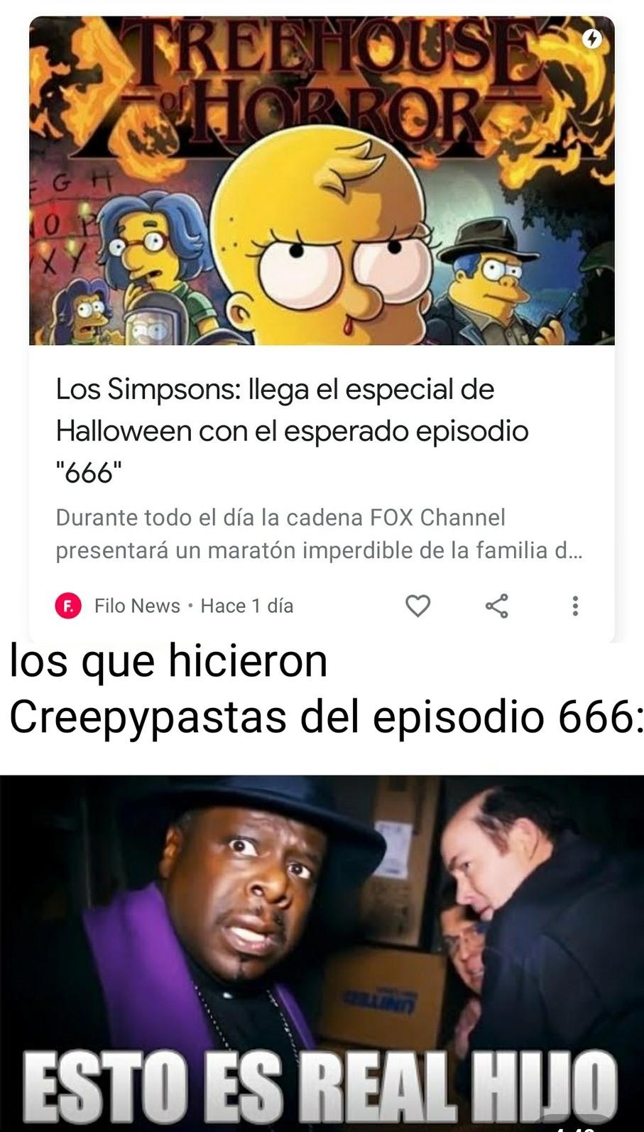 Episodio 666 - meme