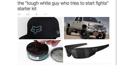 White boy - meme