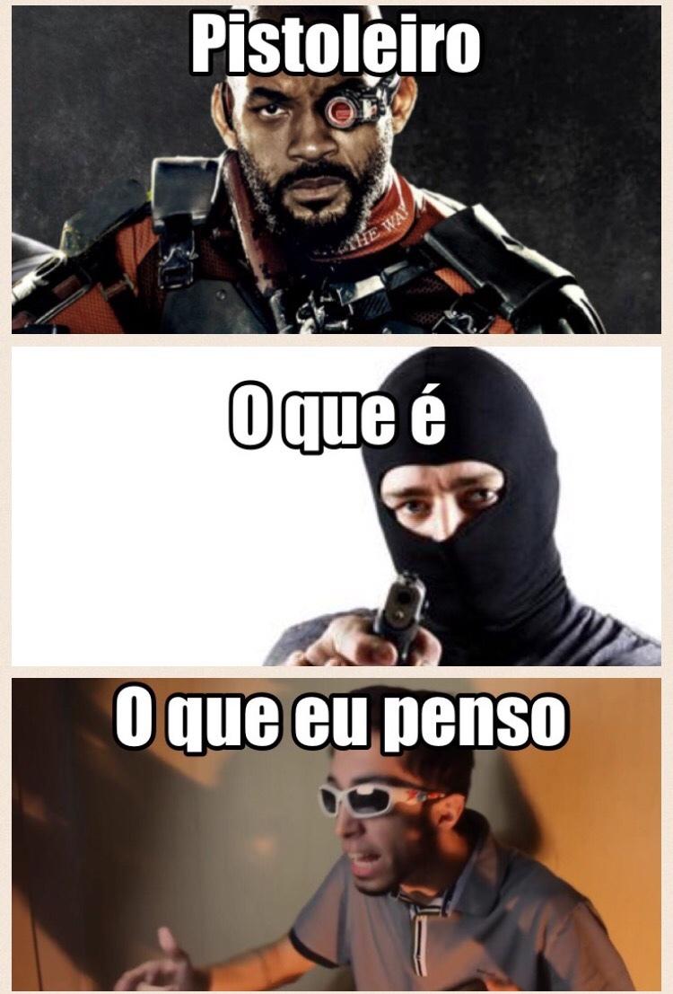 pistoleiro - meme