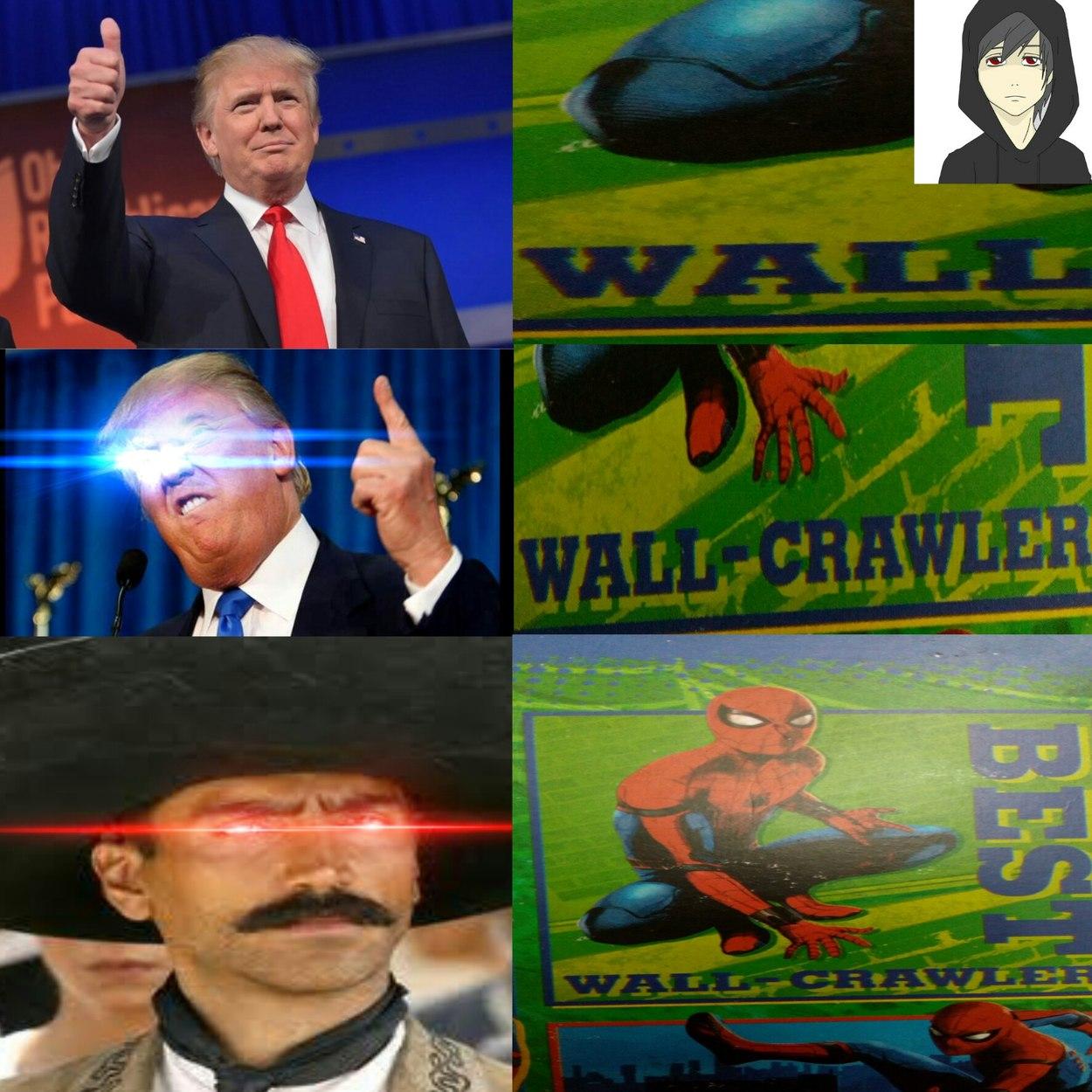 No por nada el buitre le dijo Pedro Parker (Traducción: el mejor salga muros) - meme