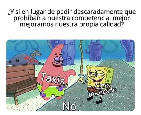 Quieren prohibir el doblaje mexicano para los que aun no se enteran - meme