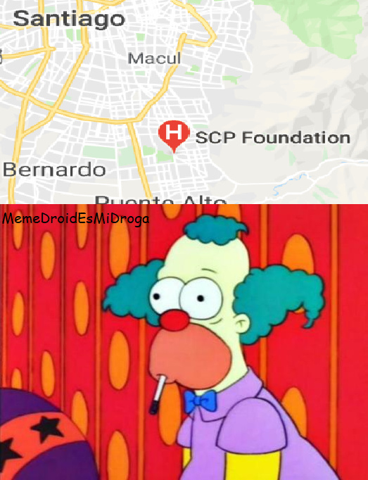 La Fundación SCP es real y está en Chile. - meme