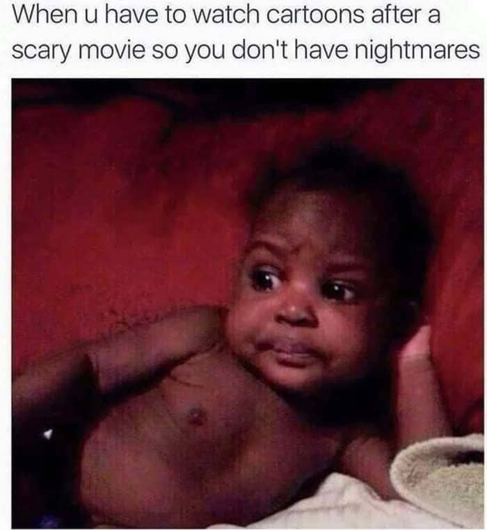 Scary movie issues - meme