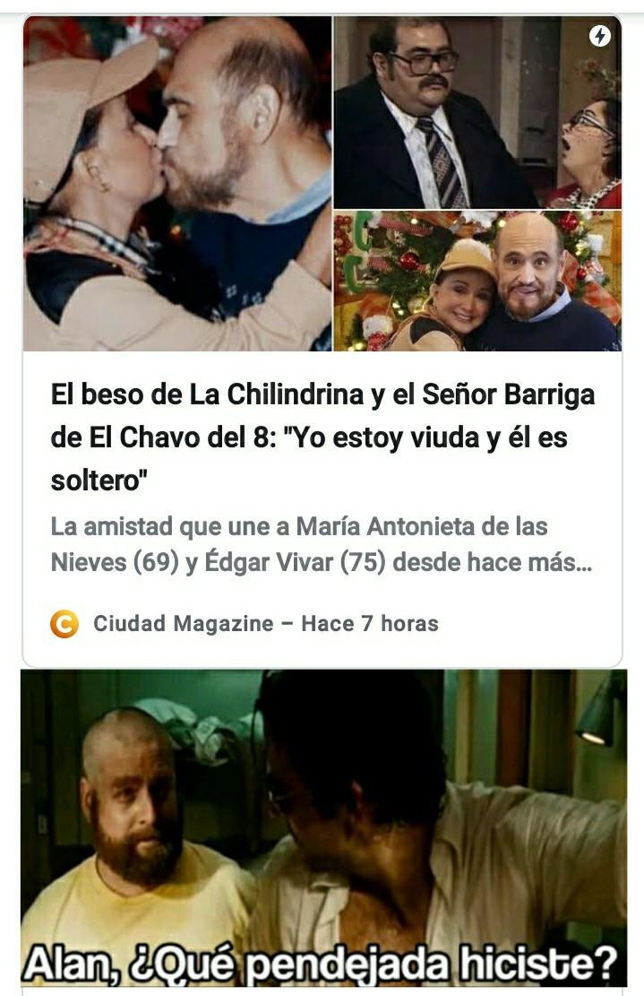 WTF solo falta que ahora salga porno anime entre la Chilindrina y Don Barriga XD - meme