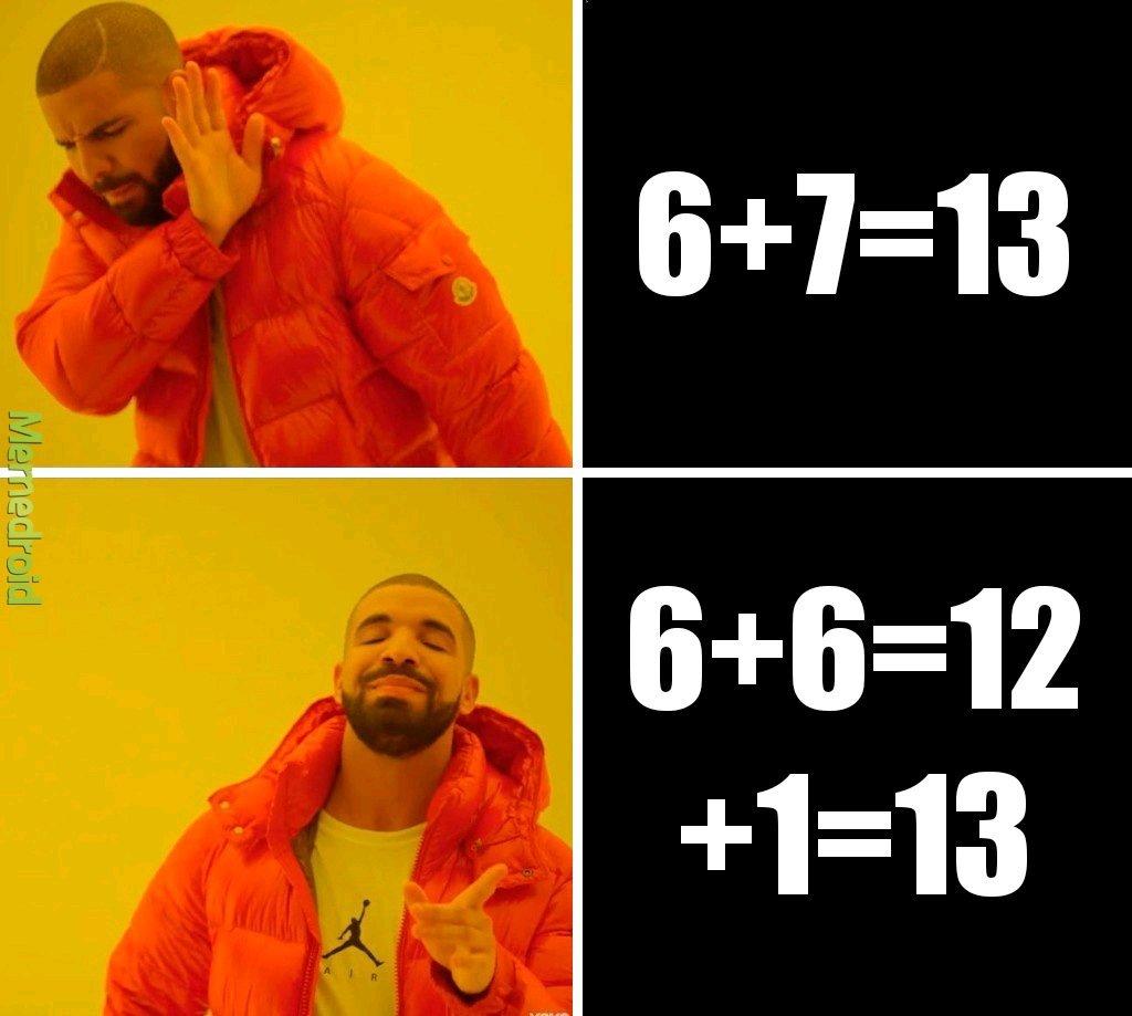 En math - meme