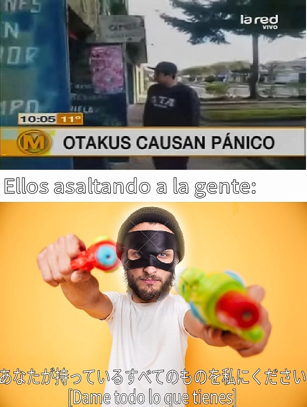 Pistola - meme