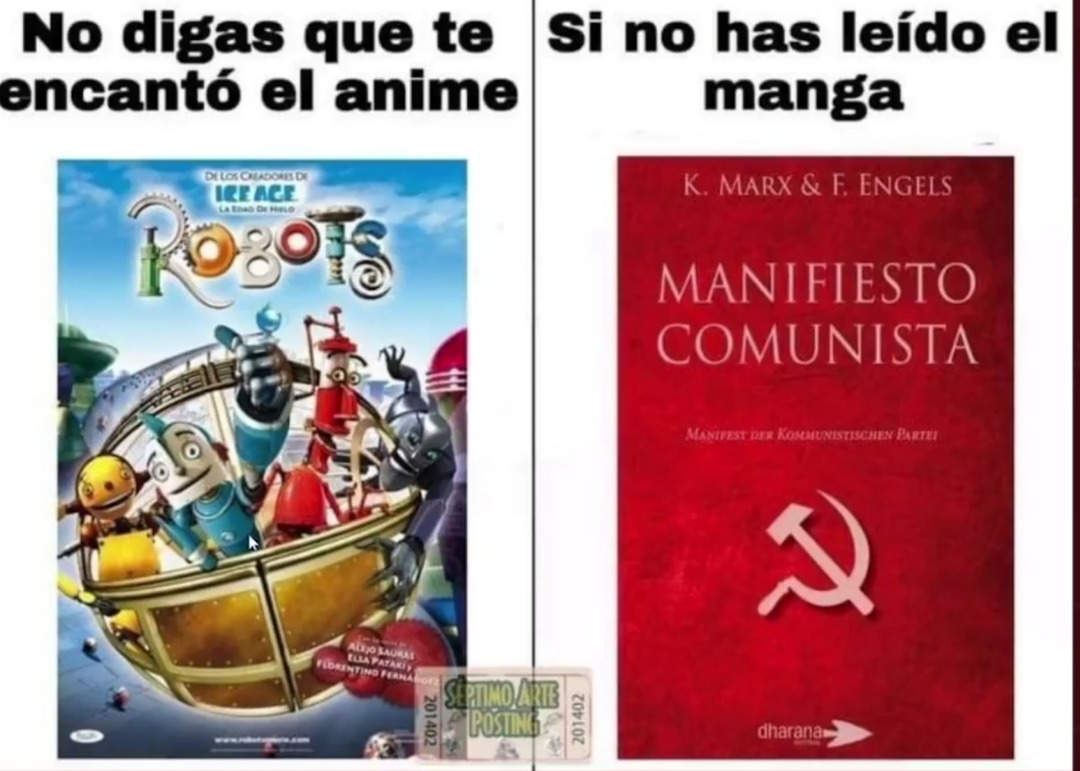 Dicen que es algo sobre el comunismo - meme
