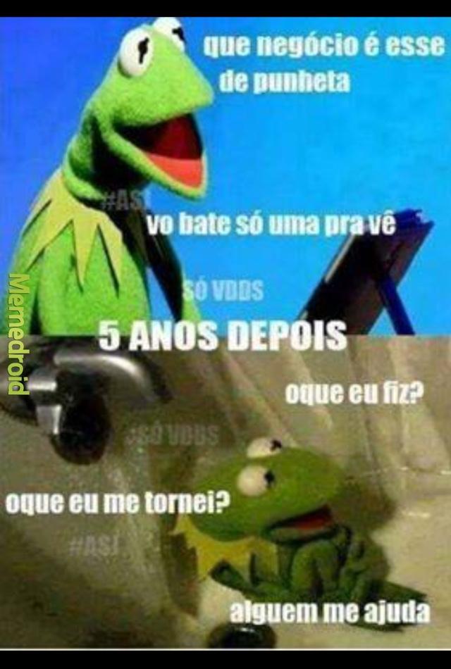 punhetinha - meme