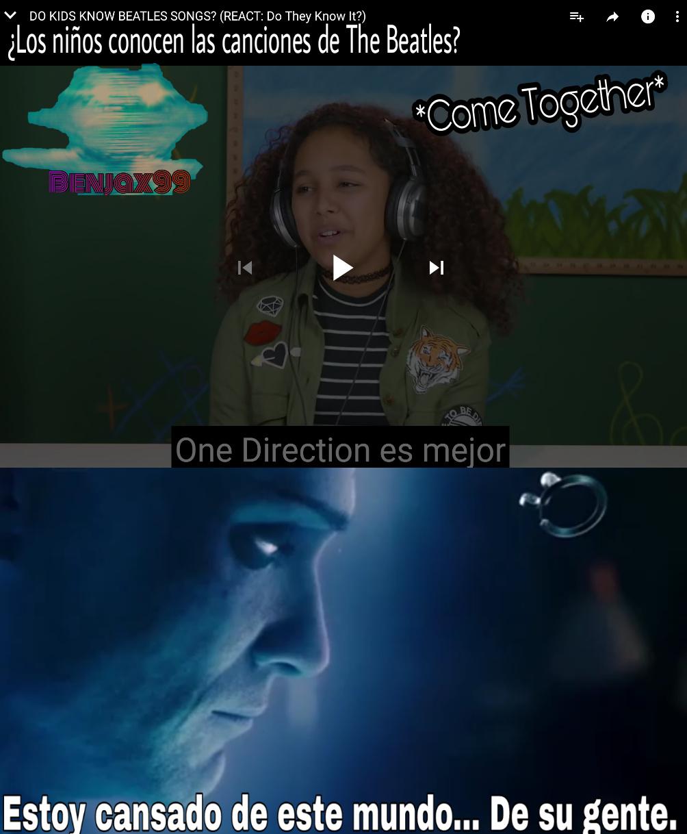 Se supone que son niños y que los gustos son subjetivos y bla bla bla... Pero ¿comparar a One Direction con The Beatles? - meme