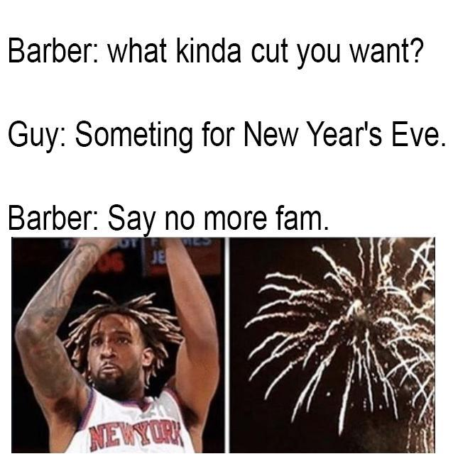 Something for New Year's Eve - meme