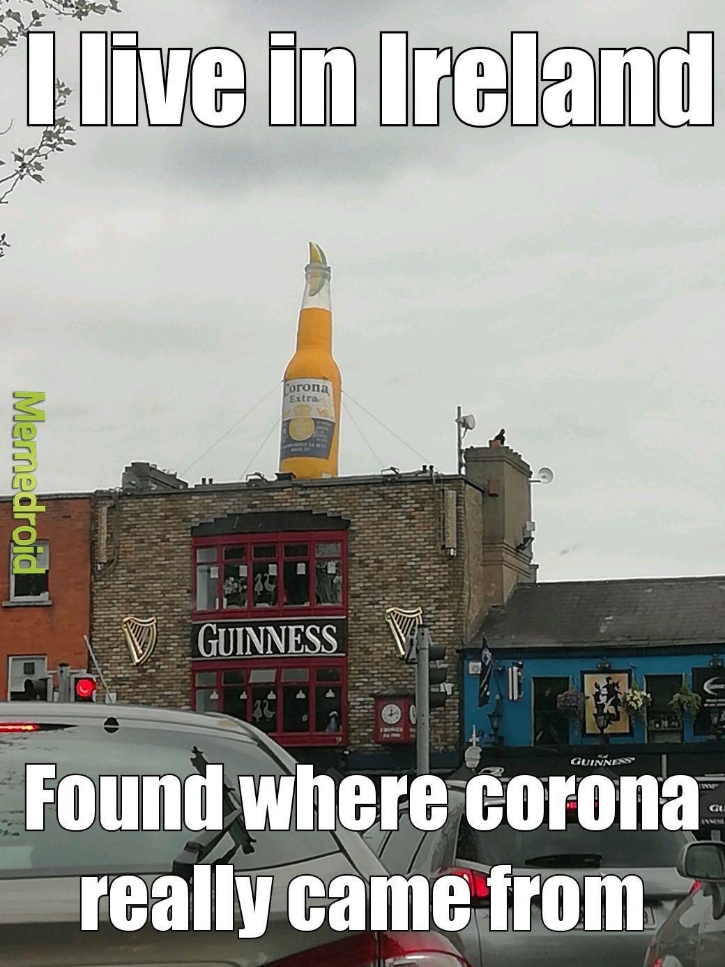 Found corona virus - meme
