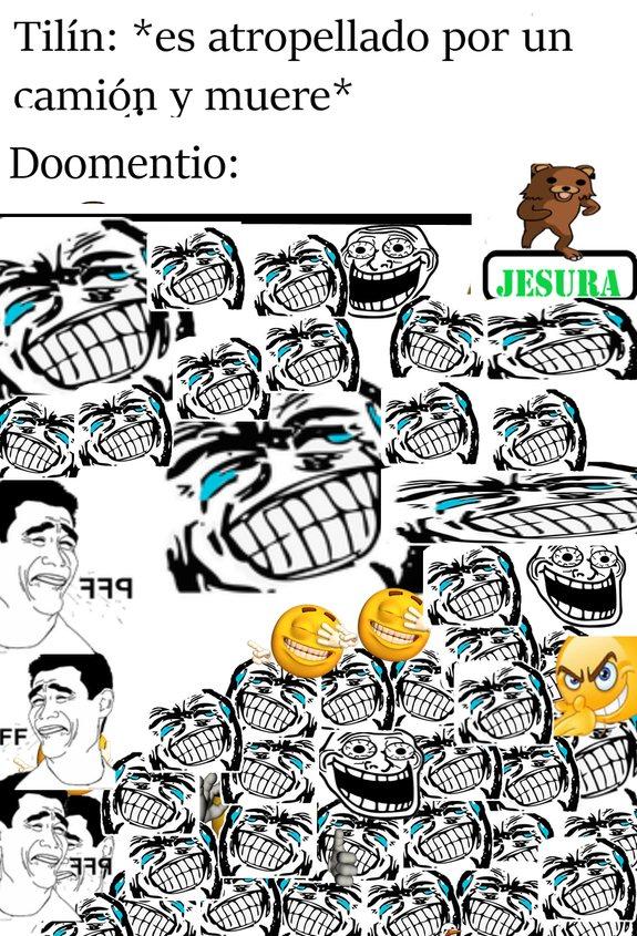 doomentio: 10/10 comedia :grin: :grin: - meme