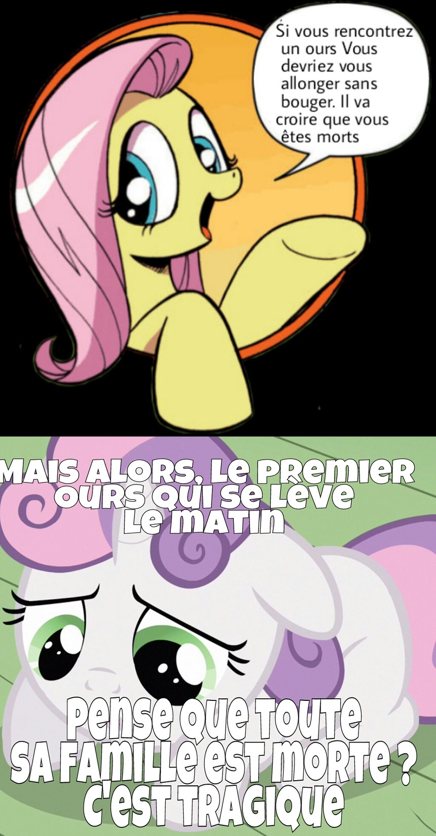 Bad advice Fluttershy - meme