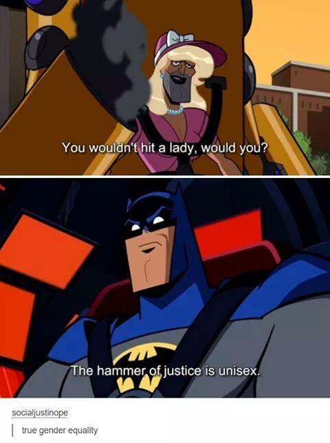 Unisex Justice! - meme