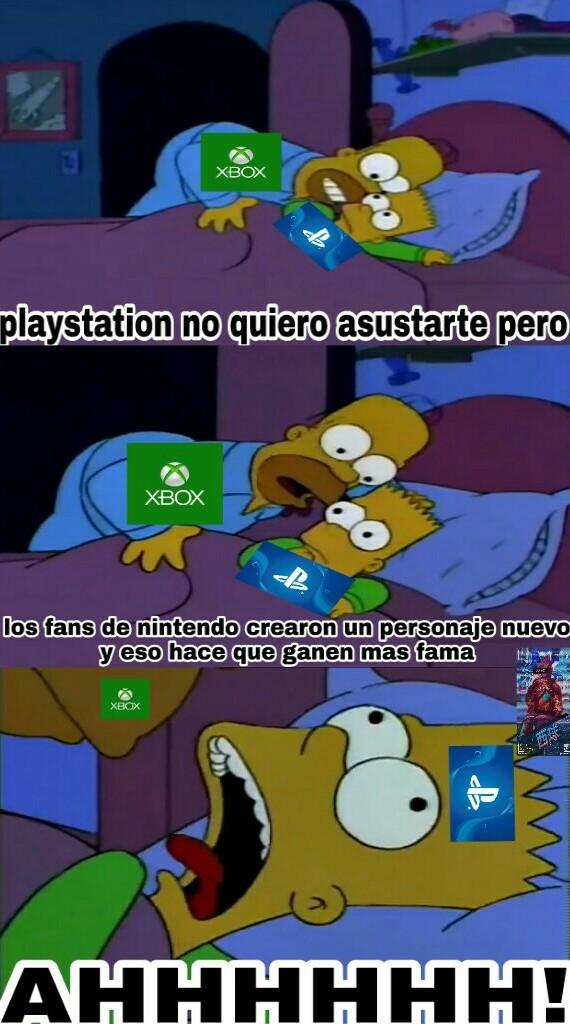 Nintendo usted es diabólico - meme