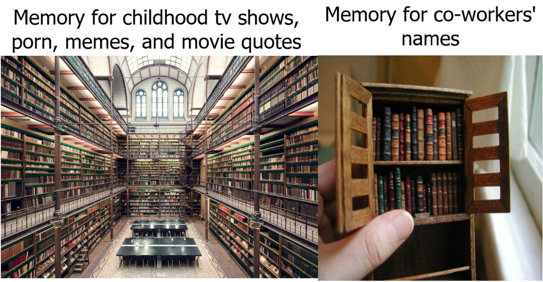 Memory problems - meme