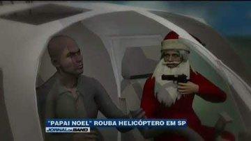 Papai Noel do RJ - meme