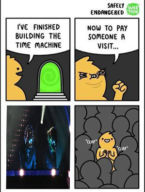 Me at daft punk tours - meme