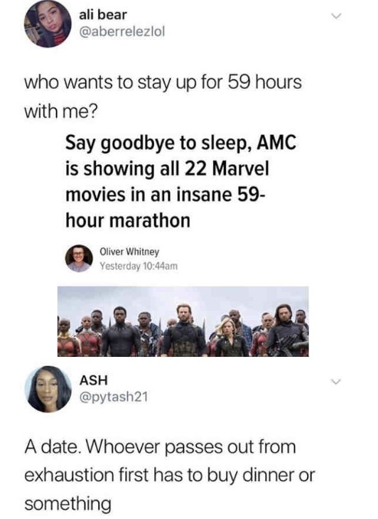 AMC announced this at the beginning of April, but I thought it would be relevant since Endgame comes out very soon - meme