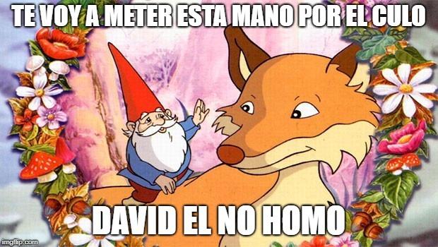 DAVID AMAESTRANDO A UN FURRO - meme