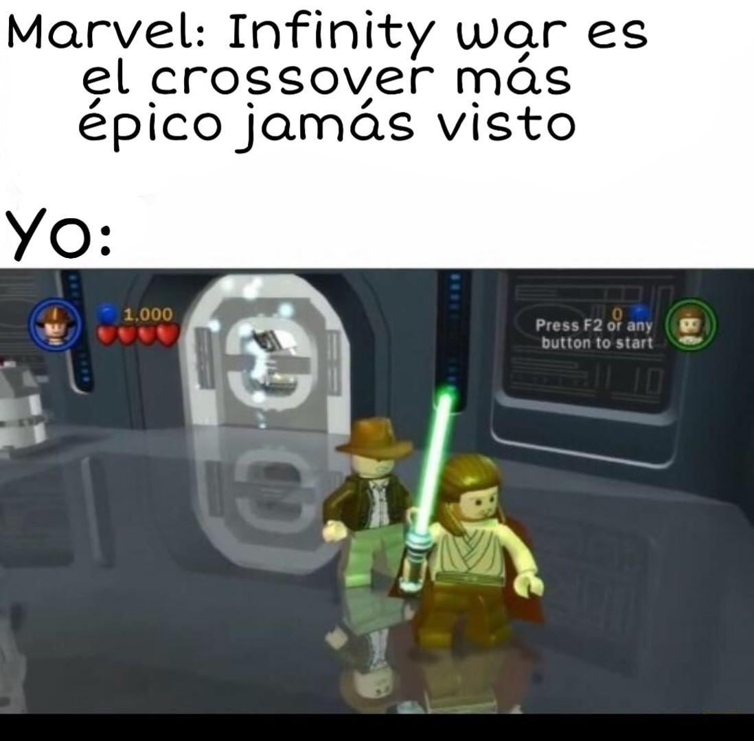 Los juegos de LEGO son arte - meme
