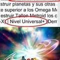 Samus puede destruir universos