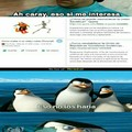 Los pinguinos son buenos para responder memes