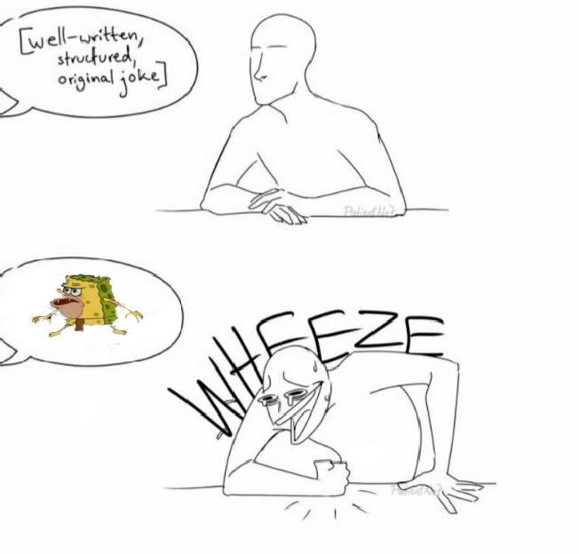 Wheezer geezer - meme