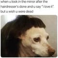 when you get a haircut
