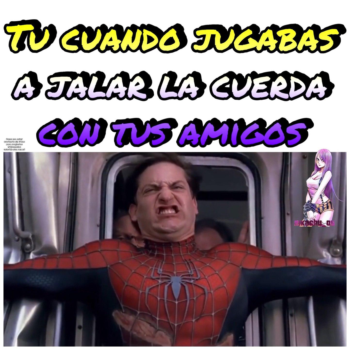 Spiderman si le hizo caso a Big Smoke \:stonerstanley:/ - meme