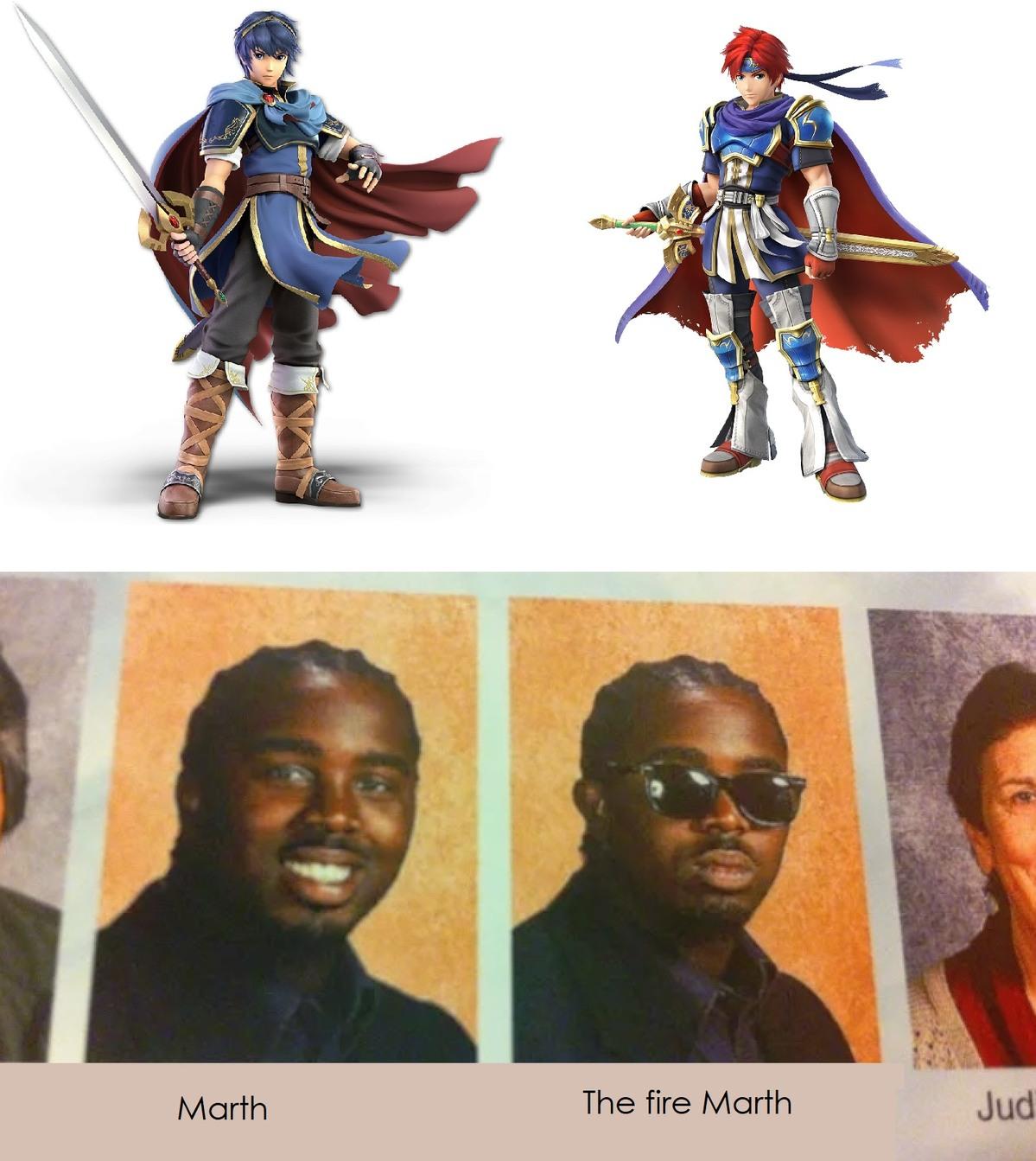Eran mas parecidos en Melee - meme
