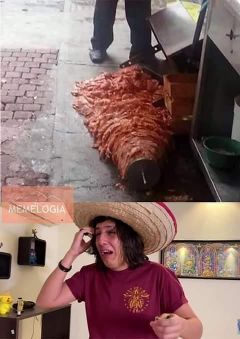 El titulo come tacos NO MOLESTAR - meme