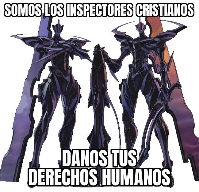 Somos los inspectores cristianos - meme
