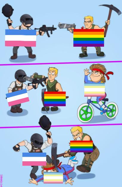 la madre de la bandera MAP es la cosa mas estupida que escuche en mi vida entera, basicamente  es la orientacion sexual a los niños y los hace pasar como algo normal PD: me borraron el meme con un 80%