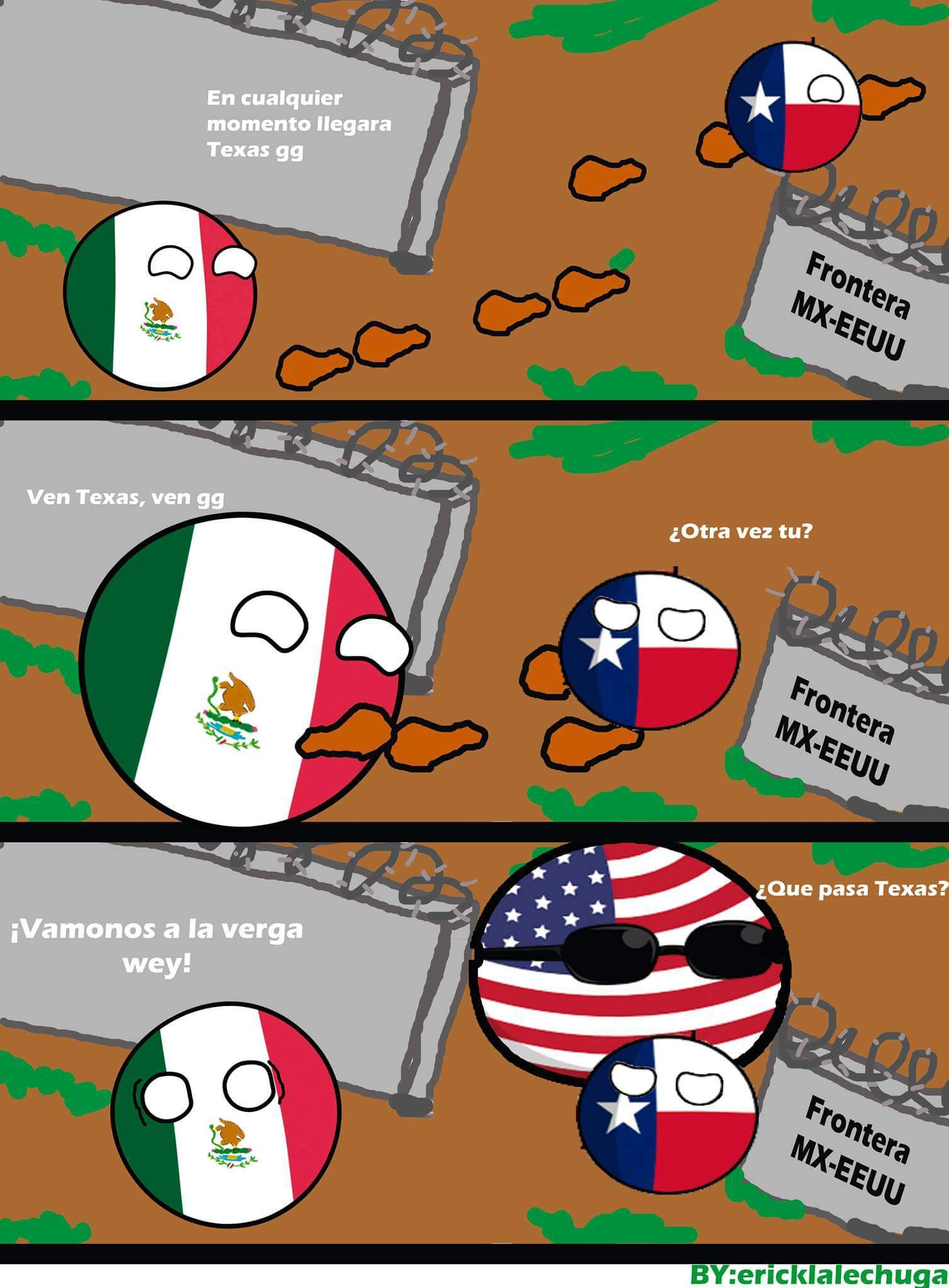 Algún día Texas volverá, yo lo sé :( - meme