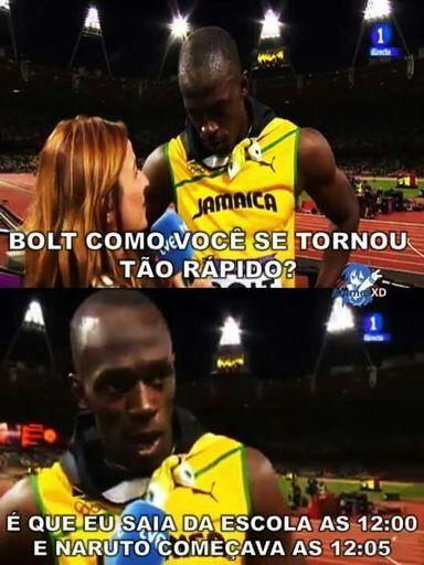O segredo de Bolt - meme